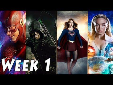 Top 10 best Arrow-verse moments of the week | Episode 1:Season Premieres