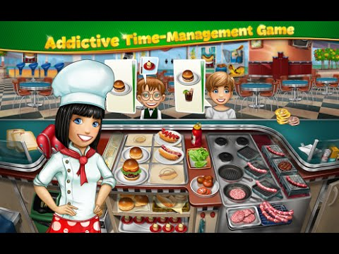 Cooking Fever Android İos Free Game GAMEPLAY VİDEO