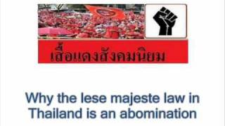 Why The Lese Majeste Law In Thailand Is An Abomination - Giles Ji Ungpakorn