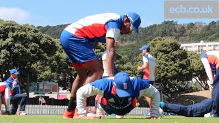 The England team have been working hard behind the scenes to get ready to face Sri Lanka in Wellington in the ICC Cricket...
