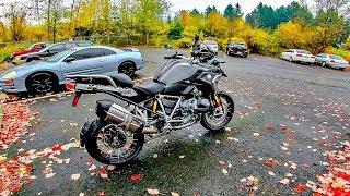 7. 1st Ride on New R1250GS!! • Boy, Am I Impressed..!   TheSmoaks Vlog_1102