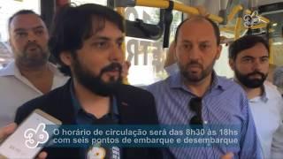 GIRO36 CIDADE | ONIBUS TARIFA COMERCIAL ZERO COMEÇA A CIRCULAR EM VOLTA REDONDA