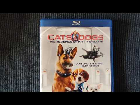 CATS & DOGS THE REVENGE OF KITTY GALORE BLU-RAY- DVD and DIGITAL COPY Overview!