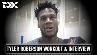 Tyler Roberson NBA Pro Day Workout Video and Interview
