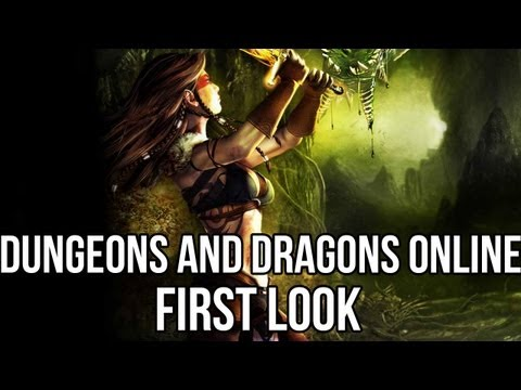 Dungeons and Dragons Online (Free MMORPG): Watcha Playin'? Gameplay First Look