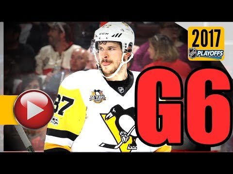 Pittsburgh Penguins vs Ottawa Senators. NHL 2017 Playoffs. Eastern Conference Final. Game 6. (HD)