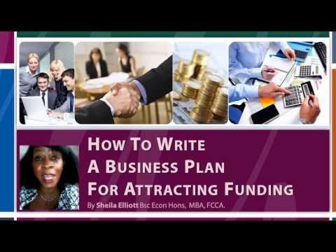 How To Write A Business Plan Course – Business Plan For Funding