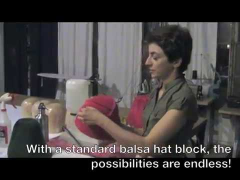 Intro to 'Freeform Hat Blocking Workshop' with Jasmin Zorlu