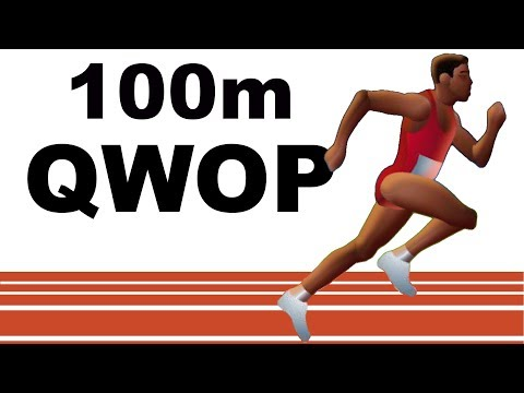 Mike Boyd Attempts to Beat the Ridiculously Hard QWOP
