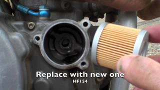 8. Husqvarna 15 min oil and filter change