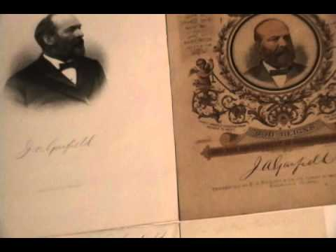 James Garfield (And Family) Signature Identification Video