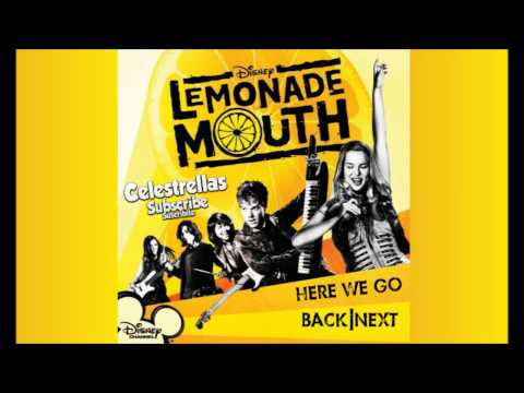 Lemonade Mouth - Here we go tekst piosenki