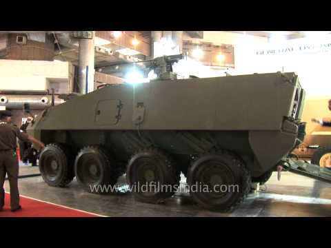 General Dynamics display its Futuristic...