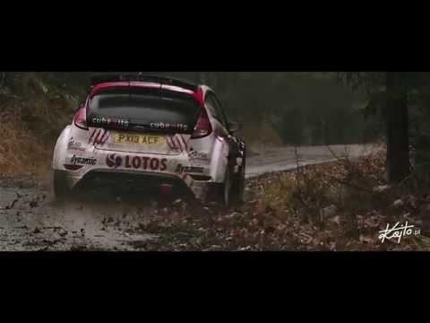 Janner Rally 2015 - Kajetanowicz/Baran pre-event test