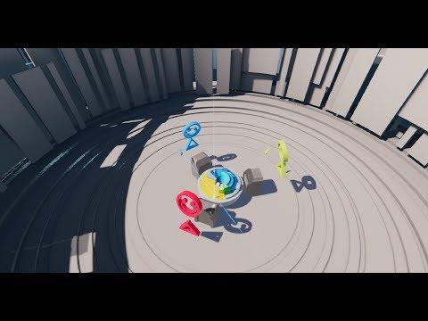 Multiplayer VR puzzle game «SLX Arena»