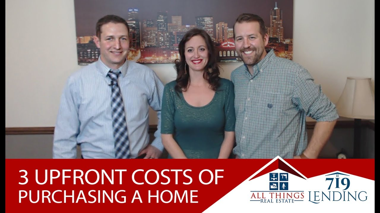 The 3 Upfront Costs in Any Real Estate Transaction