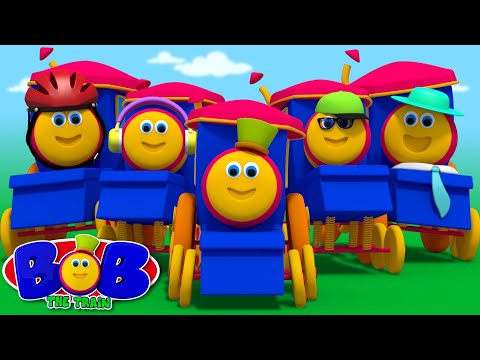 five little babies | kindergarten songs | kids cartoons | songs for children by Bob The Train