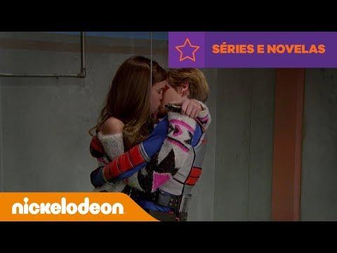 Henry Danger | Beijo no Elevador | Brasil | Nickelodeon em Português
