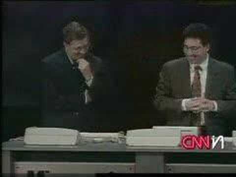Bill Gates - Windows 98 crash