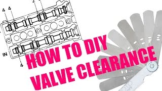 4. How to check and adjust valve clearance (valve lash)