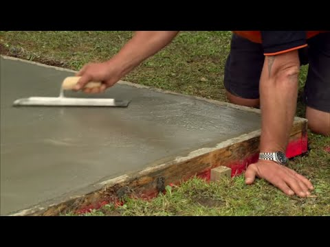How to Lay a Concrete Pad| Mitre 10 Easy As