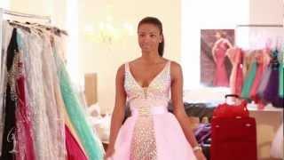 Miss Universe 2012 - Sherri Hill Fashion Week