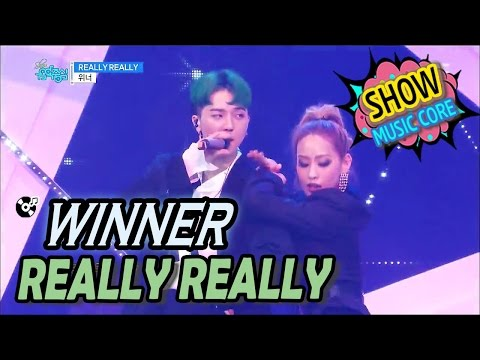 Video [Comeback Stage] WINNER(위너) - REALLY REALLY Show Music core 20170408 download in MP3, 3GP, MP4, WEBM, AVI, FLV January 2017