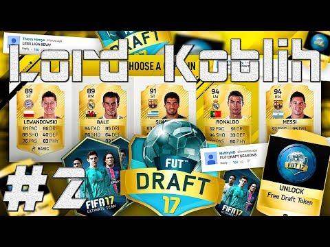 FIFA 17 | FUT DRAFT | První Zápas-DEBAKL!!! | #2 | CZ/SK