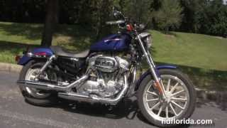 6. Used 2006 Harley Davidson XL883N Sportster Iron 883 Low Motorcycle for sale