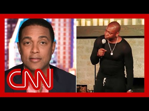 Don Lemon reacts to Dave Chappelle calling him out in Netflix special