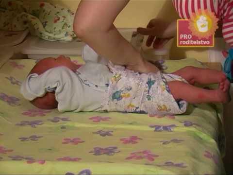 Уход за ребенком: складываем и надеваем подгузник