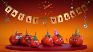 TAT Tatlı Domatesler Reklamı - Yılbaşı Animasyonu