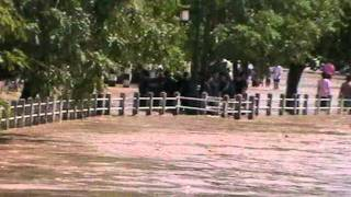 Flooding In Chiang Mai Thailand Sept. 28 2011