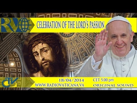 Lord - On Good Friday, Pope Francis presides over the Celebration of the Passion of our Lord, St. Peter's Basilica.