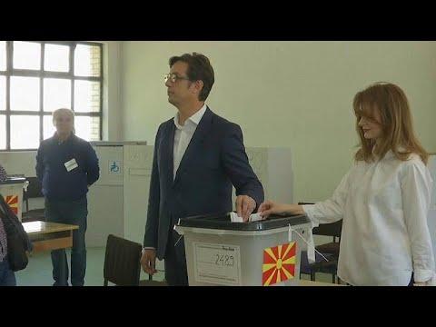 Δεύτερος γύρος προεδρικών εκλογών στη Β. Μακεδονία