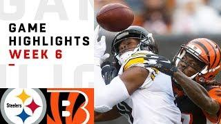 Steelers vs. Bengals Week 6 Highlights   NFL 2018