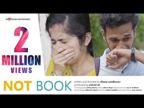 NOT BOOK - ജൂനിയർനെ പ്രണയിച്ച അനന്യയുടെ കഥ | Malayalam Short Film 2020 | Dileep Sasidharan