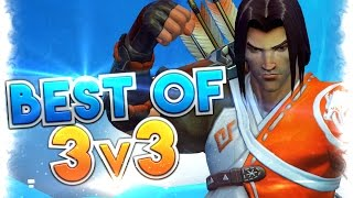 3v3 Map Best Moments  Overwatch Funny, Lucky and Best Moments! This video is about best 3v3 moments in the new map...