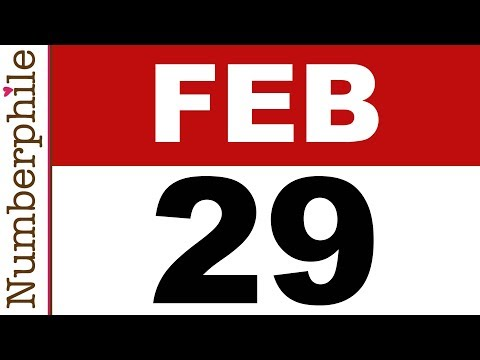 29 und Leap Years - Numberphile