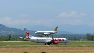 Video Landing Makassar Boeing 737-200 Pesawat TNI Angkatan Udara di Bandara Sultan Hasanuddin Makassar MP3, 3GP, MP4, WEBM, AVI, FLV Juli 2018