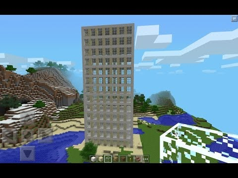 Minebot – Guide – BUILD A SKYSCRAPER IN SECONDS – Minecraft Pocket Edition