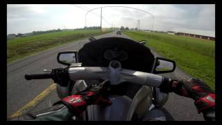 9. 2012 can am Spyder RT test drive review