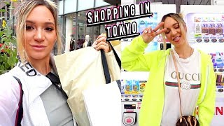 shopping in tokyo + trying japanese vending machines! by Alisha Marie Vlogs