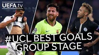 Download Video RONALDO, MESSI, NEYMAR: #UCL Group Stage BEST GOALS!! MP3 3GP MP4