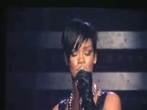 Rihanna tour - REHAB  Live