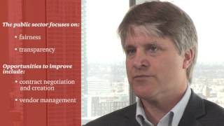 John Moore, National Public Sector Leader, PwC Canada, discusses his view that it is possible to improve services and reduce costs at the same time.