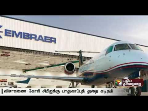 Embraer-aircraft-deal-Defence-Ministry-asks-CBI-to-probe-graft-charges