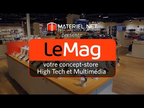 Le mag, le concept-store High-Tech et multimédia par Materiel.net, en images