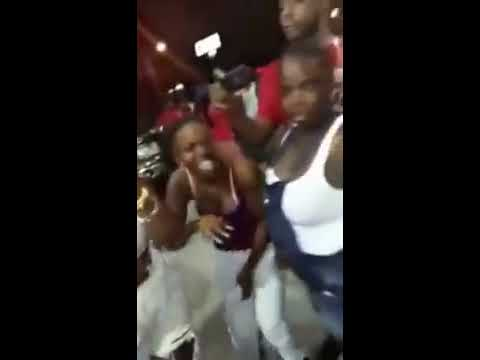 Tiny Black Girl Brutally Assaulted While The Public Keep Yelling Without Helping
