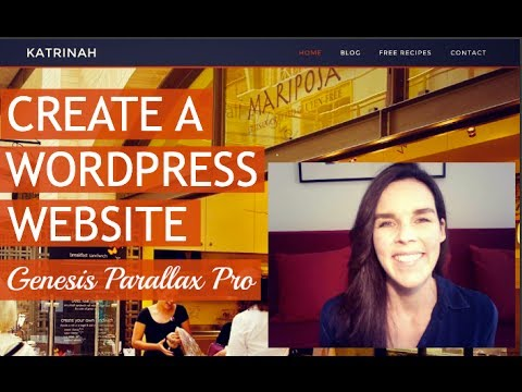How To Create A BUSINESS Website – CUSTOM! | WordPress & Genesis Parallax Pro 2014
